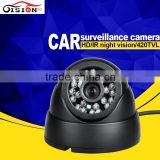 CCD Car Security Camera System 420TVL /600TVL/7ooTVL Car Security Camera System Plastic Dom Camera