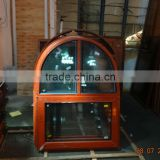 Aluminium arched casement window