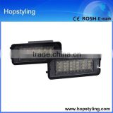 car LED number plate lamp online shop china for golf 5/6/7 LED license plate lamp canbus no error code Car LED Light