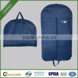 custom natural clear nylon garment bags with pockets
