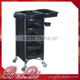 Beiqi 2016 Five Layers Multifunction Hair Salon Plastic Rolling Trolley Carts for Sale in Guangzhou
