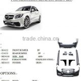 factory sell directly auto vihicle parts body kit for mercedes benz W212 E63 upgraded body kit for 2010-2014 by maker