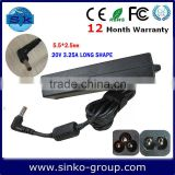 china market laptop battery adapter for lenovo/ibm Y460 36001647 ADP-65KH B 20V 3.25A 65W 5.5*2.5mm