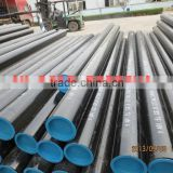 Stockholder of JINDAL SAW LTD LSAW/DSAW Line Pipes ASTM A106 Grade B/C Sour Service NACE MR-0175 Pipe