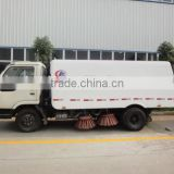 Road sweeper trucks, combi-jet road sweeper truck