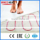 Touch Screen Floor Heating Thermostat Underfloor Heating System Drying Water Bathroom Floor Mat