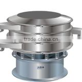 automatic circular vibrating sieving machine for sizing particles,screening power and liquid