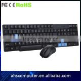 Standard or mutimedia office computer arabic keyboard mouse cheapest computer and accessories