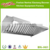 Kitchen Restaurant Equipment Stainless Steel Extraction Canopy With Mesh Filters (Range Hood)                                                                         Quality Choice