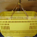 Guangzhou Supermarket Metal Hand Shopping Basket