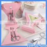 Hogift creative wedding favor gift stainless steel nail tools girls manicure sets MHo-105