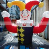 Custom Promotional Inflatable model, inflatable replica cartoon, advertising inflatable clown for event