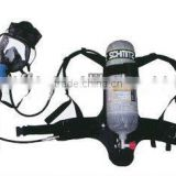 SCBA carbon fiber cylinder with 2 full face masks