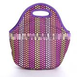 2014 Wholesale wetsuit neoprene fabric lunch bag