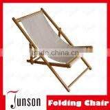 Customized Logo Promotional Gifts Wooden Folding Beach Chair