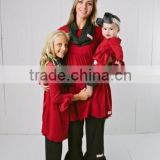 Mother Daughter Outfits Clothing Dresses,Family clothing sets,Wholesale family matching clothing