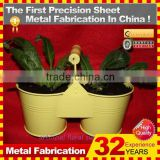 new design custom made steel flower pot stands
