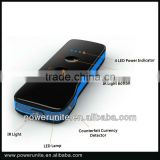 Fashionable Portable Travel Charger for iPhone/iPad/Nokia/HTC/LG/Samsung with 5,200mAh Capacity, mobile battery charger