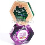 tin gift packaging box/tin promotional box