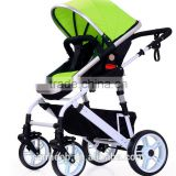2016 Baby Strollers Anti-shock Doll Pram Travel System with Adjustable Handle and Multi-position Recline seat