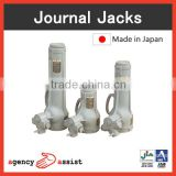Reliable and Durable industrial lift assist mechanical jack with screw structure made in Japan