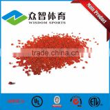 Colorful EPDM granules & EPDM rubber granules/ rubber track for playground