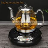 The electromagnetic oven electric ceramic stove stainless steel filter thick glass heating high temperature cooking Camellia tea