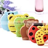 10pcs Cartoon Baby Safety Door Stopper Children Safe Anticollision Corner Guards Table Edge Protector