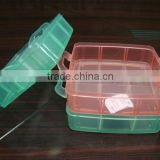 Wholesale Clear Plastic Storage Box Plastic Candy Organizer Food Containter box with Handle