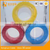 Bare copper conductor PVC insulated e249743 ul approved hook up wire ul 1185 electric wire