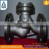 2015 TKFM hot sale city water supply pipeline use stainless steel spring non return check valve