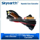 Hid Accessories Head Light Harness With Two Pieces High Power Resistors For Hyundai K5 And IX35