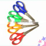 Color Cutting Scissor Cuts Paper Scissors with 6.5 inch,Red & Blue Paper Cutting Scissors
