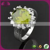 Elegant Cheap Ring For Parties 925 Silver Jade Ring