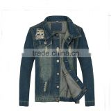 American type New model men vintage denim cotton ourter coat jean vest jeans jacket shirt