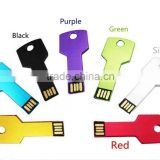 Metal Key USB 2.0 Flash Memory Stick Drive Storage Thumb U Disk