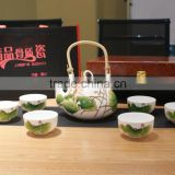 Japanese Chinese antique and retro homeware decoration ceramic porcelain cup & saucer coffee & tea pot sets                                                                         Quality Choice