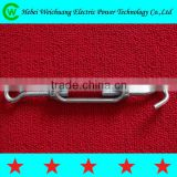 High quality U.S. type drop forged galvanized turnbuckle hook and eye line hardware