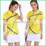 2015Newest style badminton apparel clothing ,fancy fashion badminton skirt for girl made in China