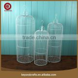 Best seller custom high top hanging iron canary bird cage
