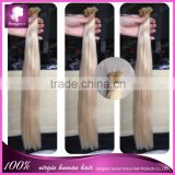 wholesale brazilian 100% virgin remy human hair bundle clip in,i tip,u tip,flat tip hair extension