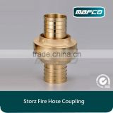 Brass storz fire hose coupling