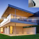 hot sale Aluminum U channel base frameless glass railing for indoor and outdoor                                                                         Quality Choice