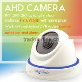 Vitevision brand cctv optional 1mp 1.3mp 2mp lens indoor ahd dome camera                                                                         Quality Choice