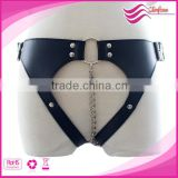 band lock T type female chastity belt+anal Beads butt vagina plug,chastity belt female erotic sex toy slave,fetish sex bondage