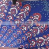 RTC-4 indian Mandala Handmade Cotton fabric girls sarong sanganeri running fabric Jaipur