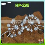 Wholesale hair accessories,artifical hairpin,hairpin for bride with stones