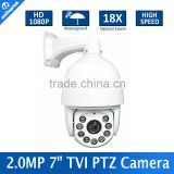 1080P 2MP High Speed Dome HD TVI PTZ Camera HDTVI Infrared Camera IR 120M,Outdoor Waterproof Housing,18X Optical Zoom