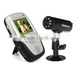 High quality 1030D HD CMOS2.4GHz 2-way Intercom Wireless Baby Monitor Mini DVR Recorder camera