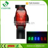 Ourdoor Riding bike tail light 200 lumens ABS material 3 red led wholesale bicycle light